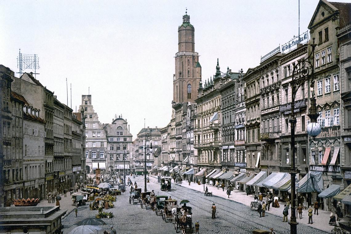 Breslavia prima della II guerra mondiale
