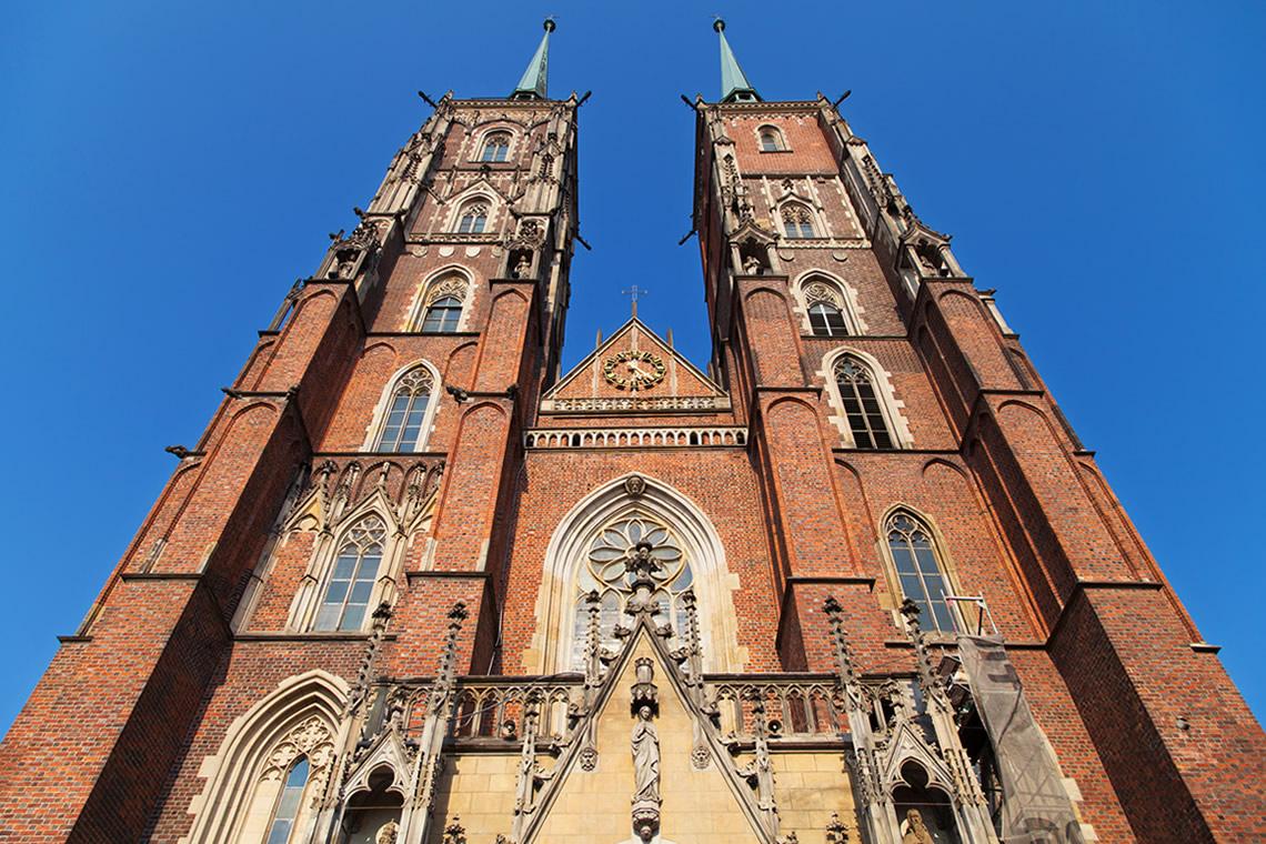 Cattedrale di Breslavia Esterno
