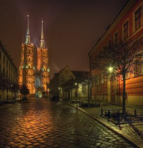 Cattedrale di notte