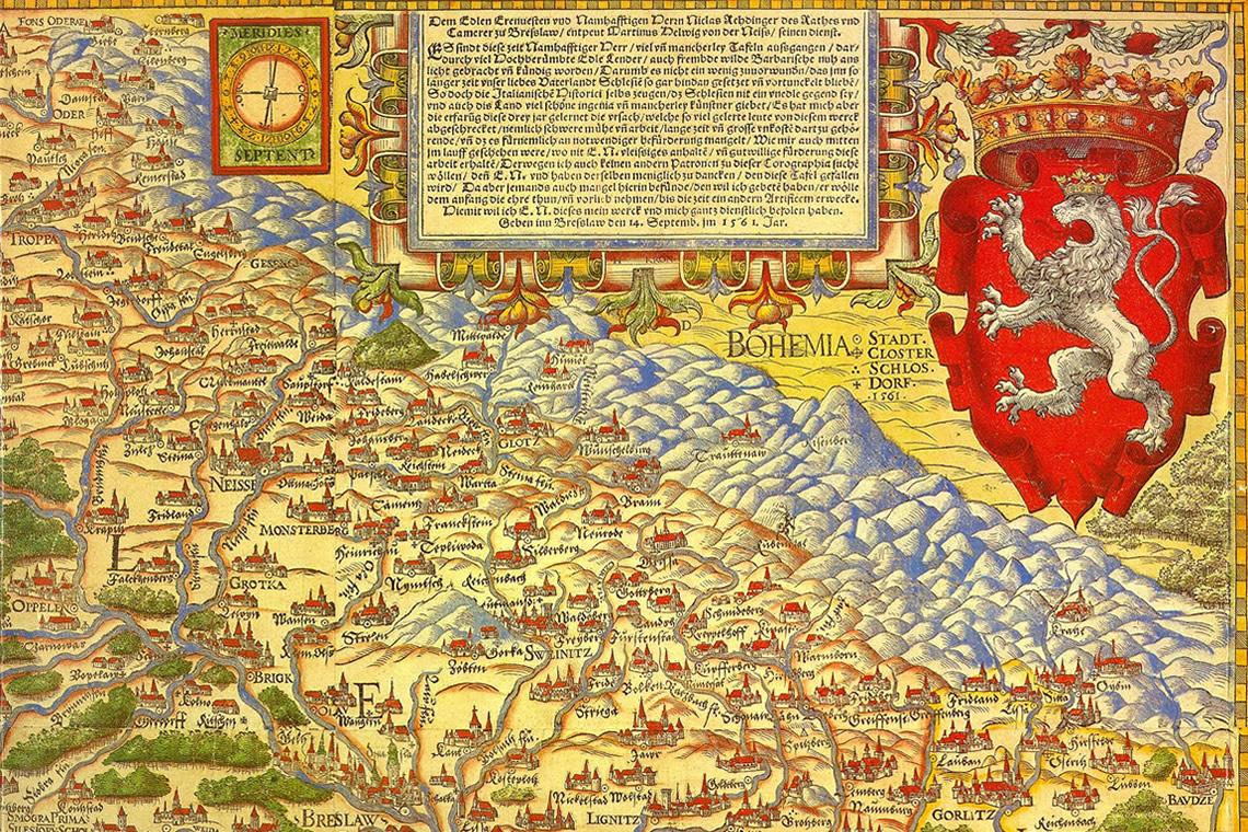 Mappa storica 1561