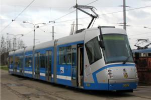 Tram moderno