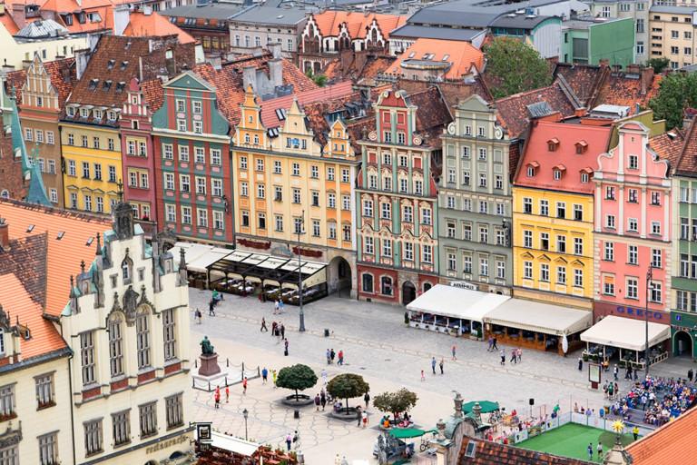 Wrocławski Rynek – Piazza del Mercato
