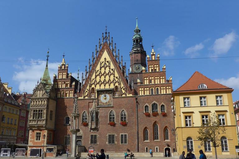 Wrocławski Ratusz  – Municipio di Breslavia