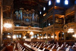 Interno della Chiesa della Pace