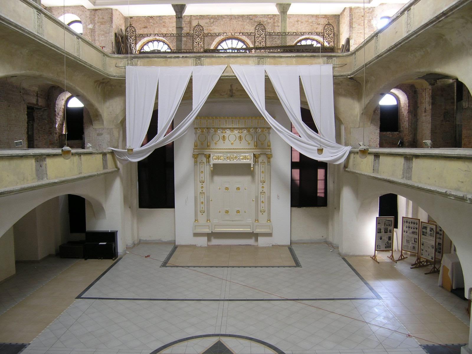 Interno Sinagoga della Cicogna Bianca