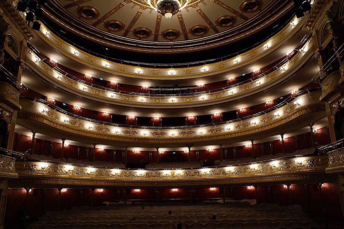 Interno Teatro dell'Opera di Breslavia