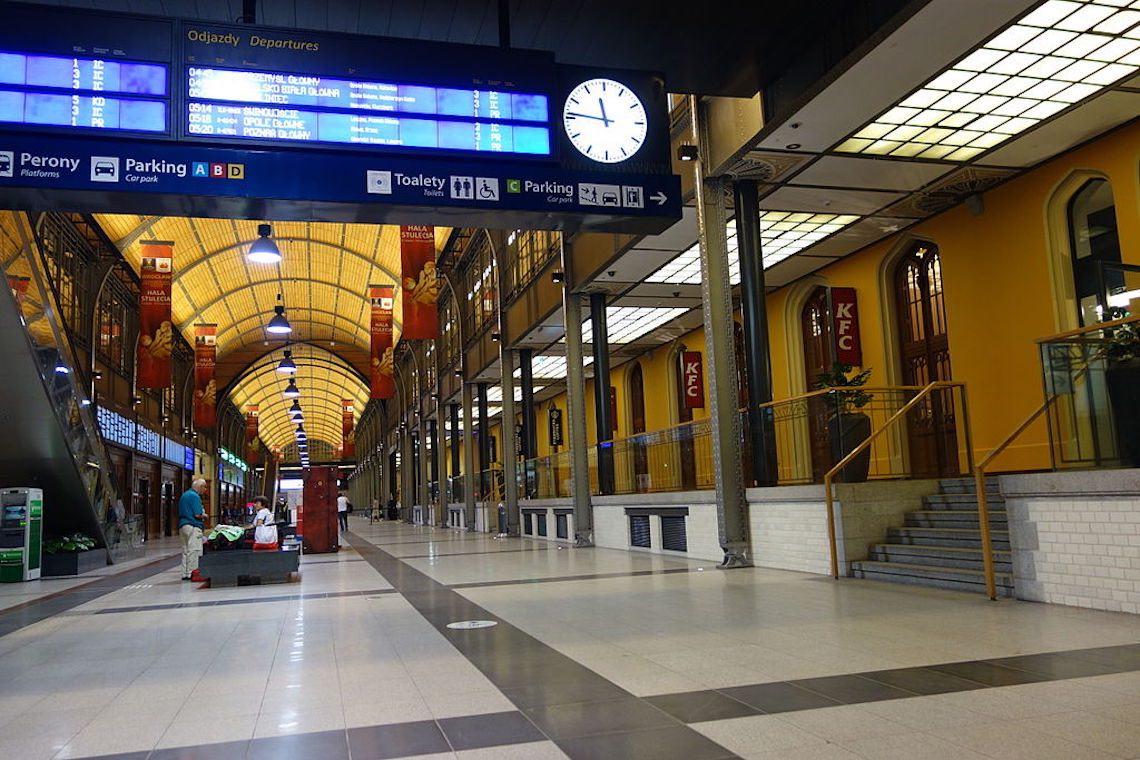 Interno Stazione Centrale di Breslavia