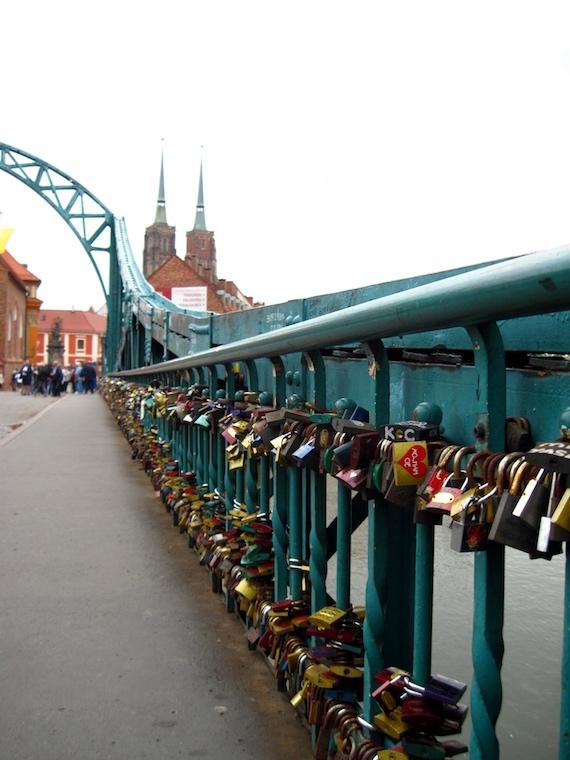 Lucchetti sul Ponte della Cattedrale
