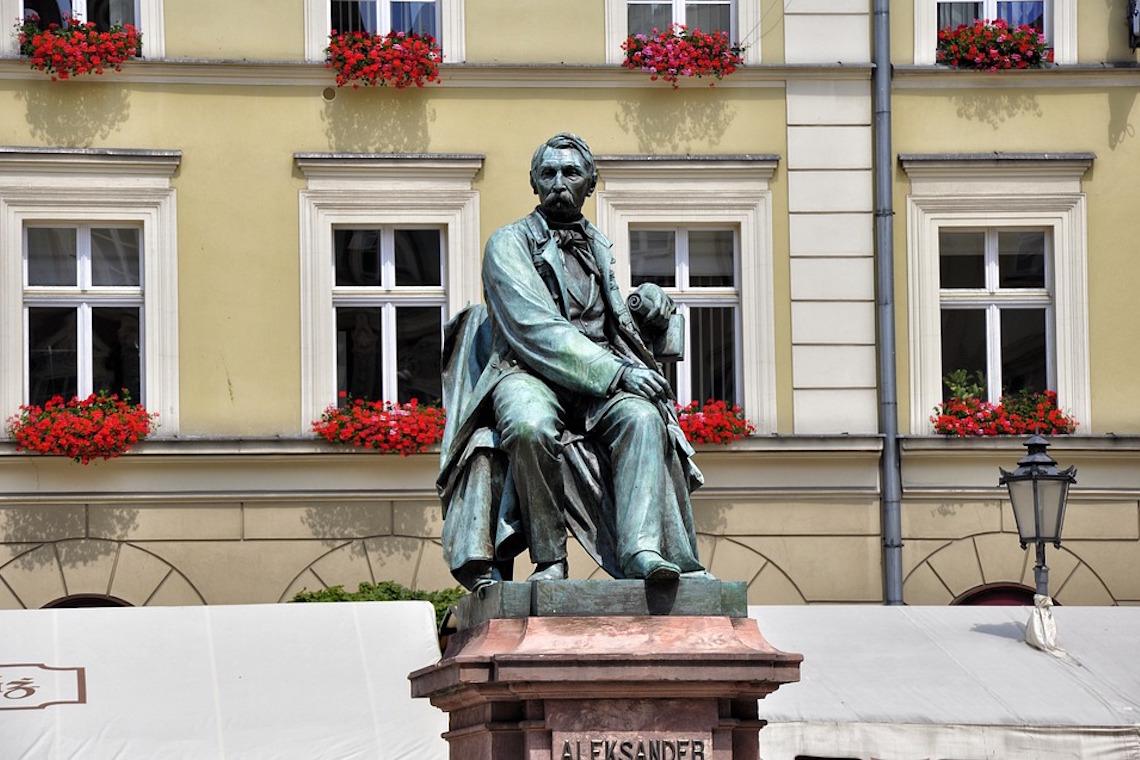 Pomnik Aleksandra Fredry - Monumento ad Aleksander Fredro